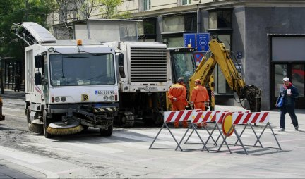 Roads of Serbia: Works on the Bypass around Belgrade, on the roundabout Resnik!
