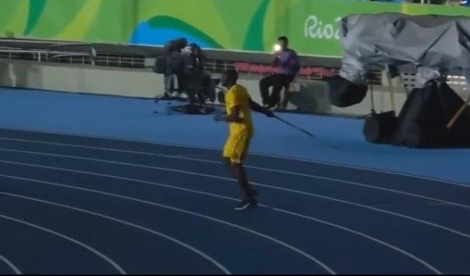 (VIDEO) BOLT MENJA DISCIPLINU! Sprinter postaje - bacač koplja!