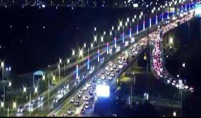 foto guŽve na putevima u srbiji pojačan saobraćaj na glavnim