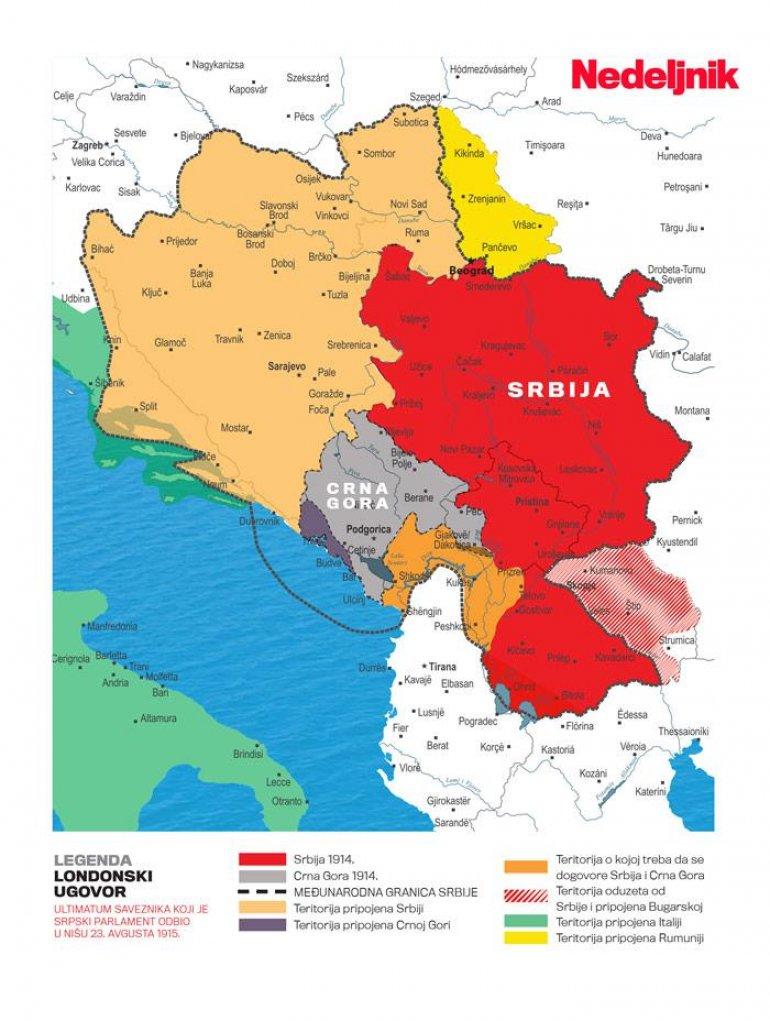 Kako Su Srbi 1915 Odbili Veliku Srbiju U Arhivi Sanu Pronađeni