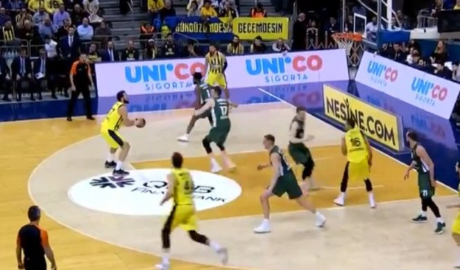 (VIDEO) EVROLIGA: Fenerbahče i Real gaze, Micić predvodio Efes!