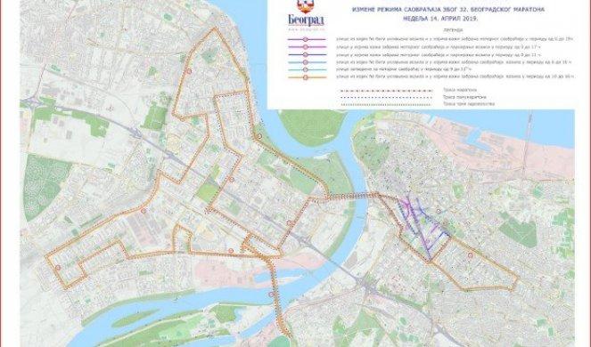 Ove Delove Beograda Zaobilazite Detaljan Plan Izmene Prevoza