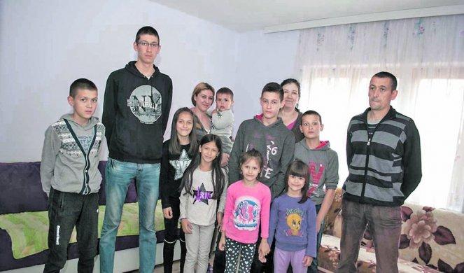 NEŠIĆI, NAJBROJNIJA PORODICA SA JUGA SRBIJE! Bračni par iz Vladičinog Hana dobio 11. dete!