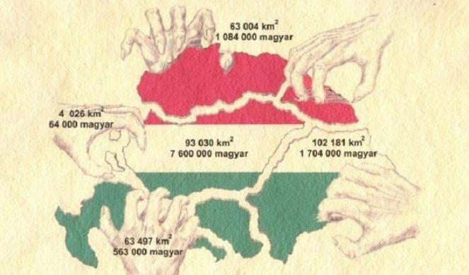 Foto Hrvati Poludeli Zbog Karte Velike Mađarske Orbanov