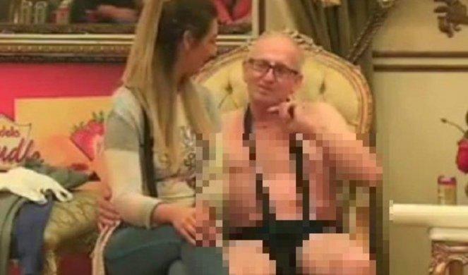 Kinky shemale orgija