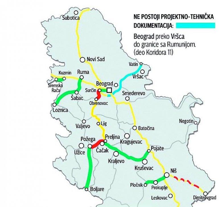 Srbija Dobija Treci Autoput Do 2023 Godine Najmodernija