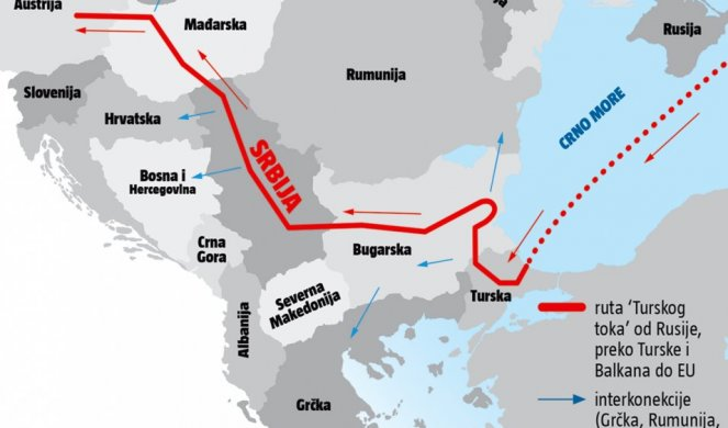 Dokle Vise Ameri Namerili Da Srbiji Otmu Turski Tok Objasnjenje