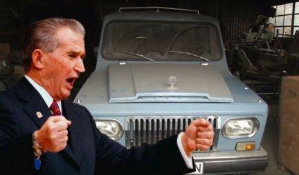 (VIDEO) RUMUNSKI TERENAC IZ 1977. PRODAT ZA 44.000 DOLARA! Ali to nije običan džip, u njemu je u lov išao jedan od NAJVEĆIH DIKTATORA U ISTORIJI!