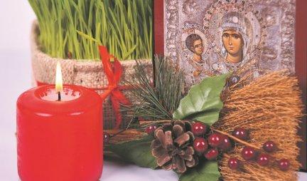 NOŽ U VRATIMA, KAMIČAK POD JEZIKOM Ovo su STARI SRPKI OBIČAJI za Badnji dan koji donose SREĆU I BLAGOSTANJE