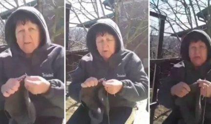ŠTRIKA DŽEMPER I PSUJE KORONU! Baka iz Užica postala HIT NA INTERNETU, probajte da se ne nasmejete! (VIDEO)