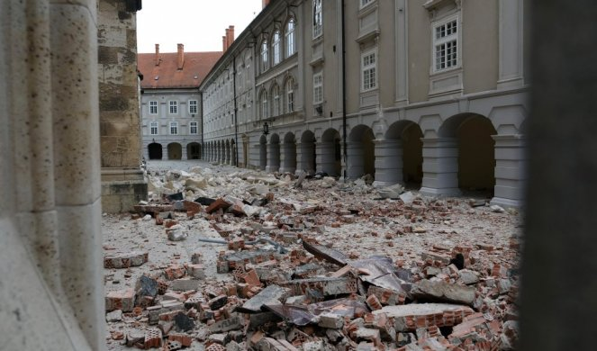 Foto Video Katastrofalan Zemljotres Pogodio Zagreb Srusio Se Krov Katedrale Automobili Unisteni Informer