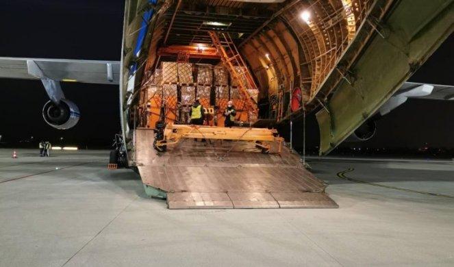 SLJEDEĆI AVION BIT ĆE PUN RESPIRATORA! Šeik iz Emirata poslao Srbiji 10 tona pomoći!