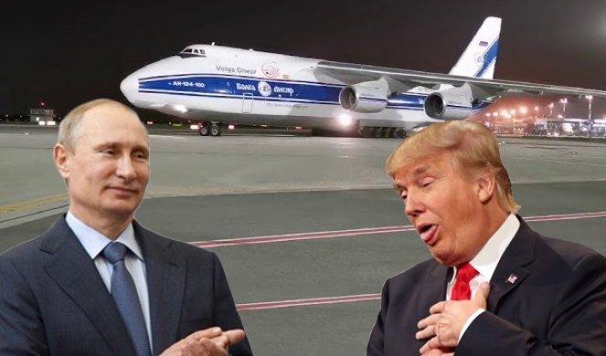 VELIKA AMERIKO, ŠTA SI DOČEKALA! Tramp na kolenima, Putin mu zemlju spasava od korone!