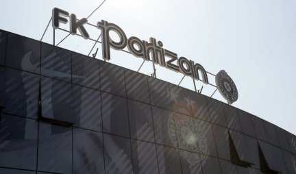 PARTIZAN ANNOUNCED ON THE OCCASION OF OFFENDING THE PRESIDENT!  Black and whites FENCED themselves from the group of FANS!