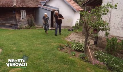 MATORA SAM, ALI VOLIM DA ŽIVIM! Ova bakica bi svaku drugu osobu pobedila u TRCI NA 50 METARA! Kosi travu, cepa drva, svira HARMONIKU! (VIDEO)