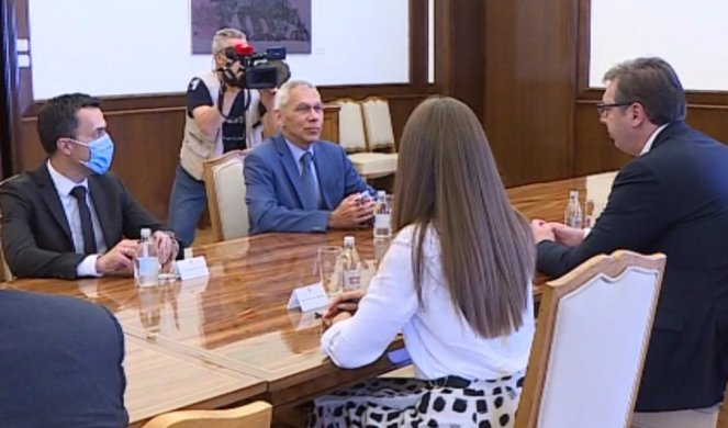 VUČIĆ SE SASTAO S BOCAN-HARČENKOM! Unapređivanje dobrih odnosa Srbije i Rusije!