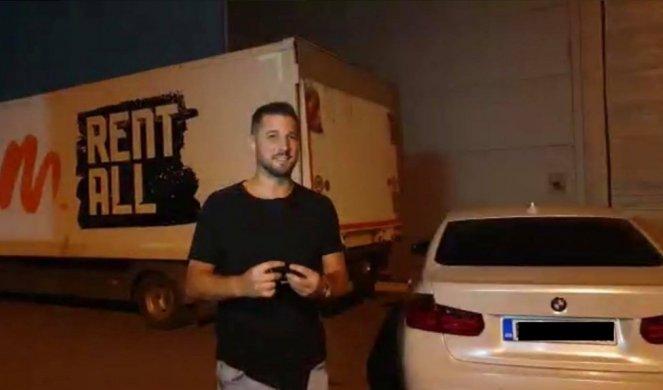 MARKO PROVOZAO LUNINU MAŠINU!!! Miljković doterao brzi BMW u Šimanovce