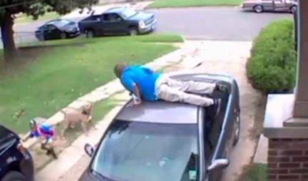 (VIDEO) Krvoločni pas zaleteo se na oca i ćerku: Zbog onoga što je tada uradio, CEO SVET ŽELI DA LINČUJE OVOG ČOVEKA