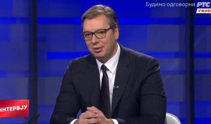VUČIĆ NA RTS: Putin mi se lično izvinio zbog nesmotrenog gesta Zaharove, zato što poštuje i mene i Srbiju!