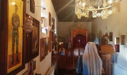 (PHOTO) SAINT JOHN OF RUSSIA, KEEPS THE SERBIAN BROTHERS: The icon of a saint in the uniform of the Yugoslav Army TESTIFIES A MIRACLE FROM THE TIME OF NATO AGGRESSION!