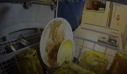 Proverite zašto je OVAJ VIDEO POGLEDALO VIŠE OD 15 MILIONA LJUDI! Svi vole da zavire u mašinu za sudove?