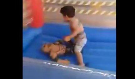 (VIDEO) BRUS LI SA SAMO 4 GODINE! Ostaćete zatečeni kada vidite šta ovaj dečak radi u ringu