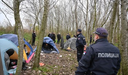MASS FIGHT OF MIGRANTS NEAR KIKINDA!  During the calculation, knives and axes were used, the EMERGENCY TOOK THEM IN TOURS