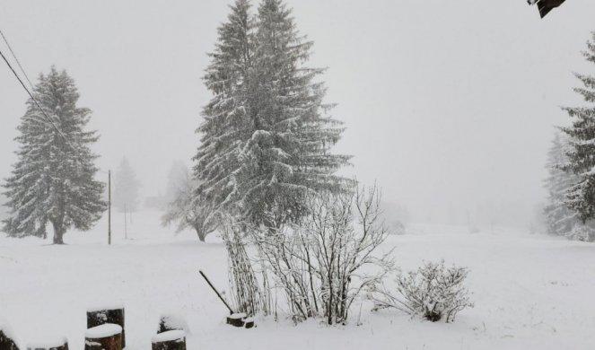 SNEG OKOVAO SRBIJU, PRETE POPLAVE: Na Kopu palo čak 70 cm snega , u  Doljevcu proglašena VANREDNA SITUACIJA, KRITIČNO U VLADIČINOM  HANU/FOTO/VIDEO/ - Informer