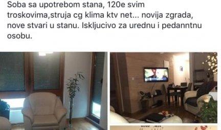KAKAV OGLAS! BESPLATNO stan u Beogradu, ako ispunite jedan USLOV! Ovo je ZGRANULO korisnike društvenih mreža! /Foto/