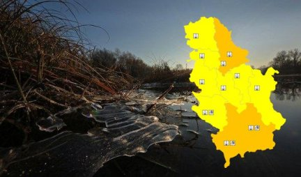 ICE DAYS ARE BEFORE US!  In Serbia today, partly cloudy and cold, on Wednesday RAIN AND SNOW!