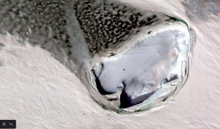 KORISNIK GUGL MAPA OTKRIO OGROMNI LEDENI BROD na Antartiku, nećete verovati ČEMU JE NAMENJEN! /Foto/Video/