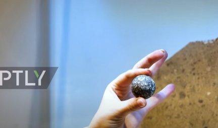 VANZEMALJSKA KUGLA SA MESECA NA PRODAJU! Evo kako IZGLEDA predmet koji nije sa naše PLANETE /VIDEO/