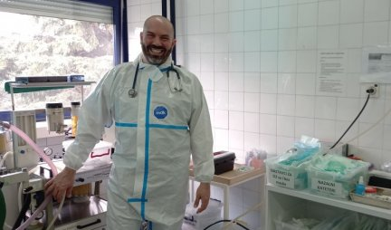 DOCTOR PRUNIĆ OPENED MY SOUL: The crown changed our lives, I spent my birthday transporting an INFECTED PATIENT