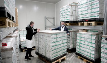 KEY MEDICINES FOR KOVID ARE STORED HERE!  500,000 doses of Sinofarm placed in the central warehouse, are already heading to the places for vaccination tonight!  Photo / Video