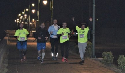 COURAGEOUS GUYS RUN 200 KILOMETERS FOR LITTLE GAVRIL!  Humanitarian race Buy kilometers - Donate - Share was held in Veliko Gradište