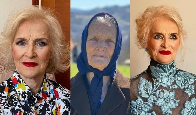 BAKA MILORATKA (86) NEVEROVATNOM TRANSFORMACIJOM ODUŠEVILA SRBIJU! Unuk od  nje napravio LEPOTICU u haljini koju je nosila Anastasija Ražnatović! Foto  - Informer