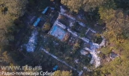 ČUDESNO OTKRIĆE KOD MALOG ZVORNIKA Gusta šuma vekovima skrivala prizor koji je iznenadio i same arheologe
