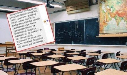 DOJADILO ČOVEKU! A, šta mislite da dignemo STAMBENI KREDIT za razrednu? PORUKA IZNERVIRANOG TATE KRUŽI INTERNETOM!