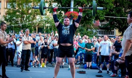 THE GOVERNMENT IS THE STRONGEST MAN IN SERBIA!  This strongman from Kikinda proved that he has no equal for the FOURTH TIME IN A ROW / PHOTO /