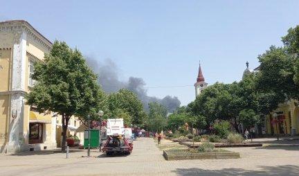 HEAT BURNED BANAT, BUT REALLY!  Hundreds of firefighters battled 4 fires