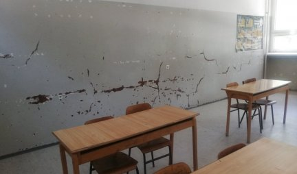 SAD FACE OF SERBIA!  Majdanpek High School before closing!  Only 2 students want to enroll