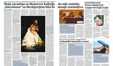 NOVINARKA DANASA NEMA POJMA da nastup Fredija Merkjurija i Monserat Kabalje nikada nije održan na Olimpijskim igrama JER JE ČOVEK UMRO!