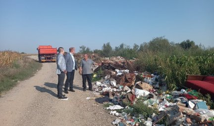 REMOVAL OF WILD LANDFILLS IN SABAC STARTED!  The first rehabilitation in the local community Ribari!