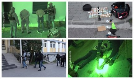 Movie scene at 4 am in Uzice!  Police released the footage