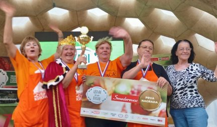QUEENS OF AJVAR DEFENDED THE TITLE!  Twice in a row, women from